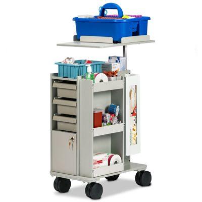 67032 Slimline Store & Go Phlebotomy Cart
