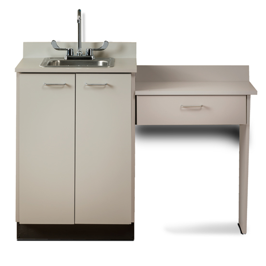 8024 99 Ashen Gray With Sink