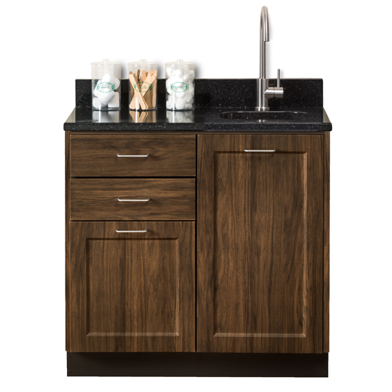 8636 Chestnut Hill Black Coral With Sink