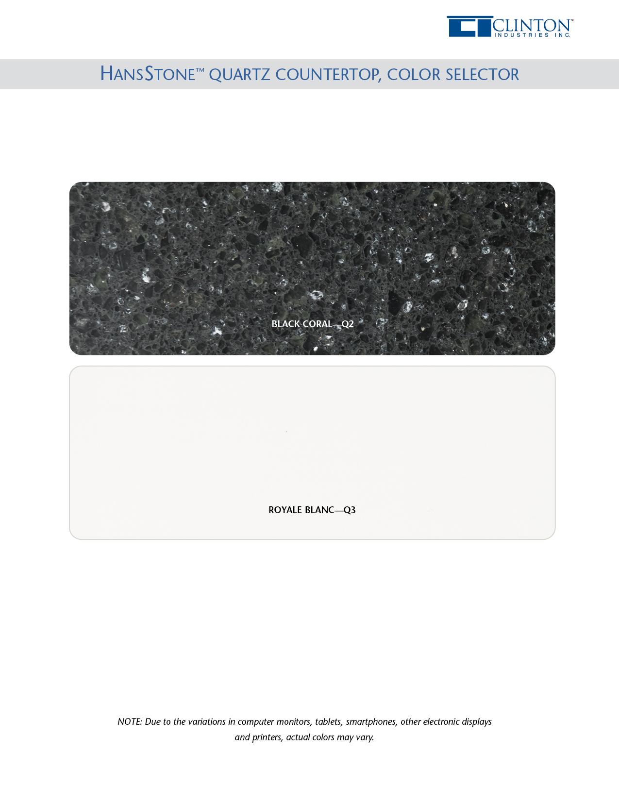 HanStone™ Quartz Countertop Color Selector