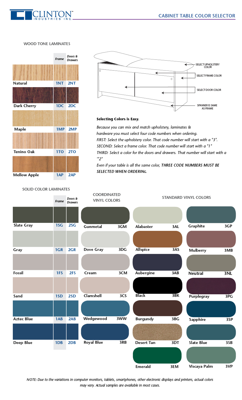 Normal Stool Color Chart Adults Panel leg table color selector