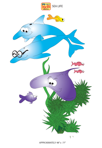Sea Life Sticker Copy3