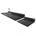 42 48 Black Alicante With Desk
