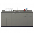 8072 Slate Gray with sink