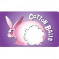 Cotton Balls Label