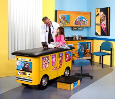 7020 RR Pediatric Ready Room with stool 2020 T ww