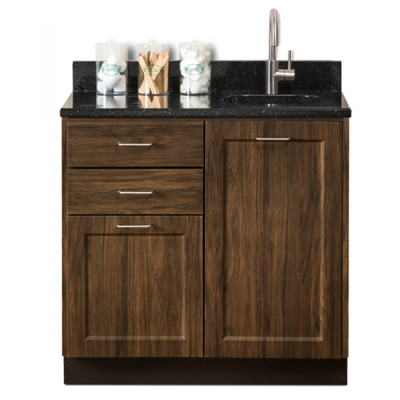8636 Chestnut Hill Black Coral with Sink NF