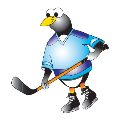 Hockey Penguin 2018