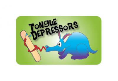 Tongue Depressors Label
