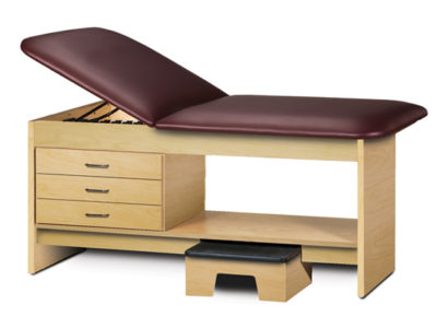 Treatment Table With Stool Clinton Industries