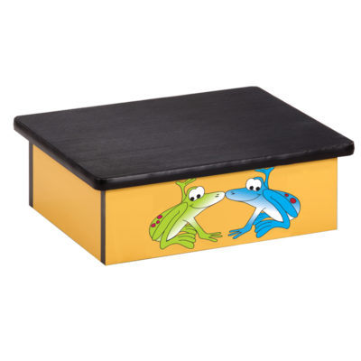 Rainforest Tree Frogs, Yellow, Laminate Step Stool