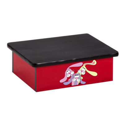 Wally's Trolley Rabbits, Laminate Step Stool