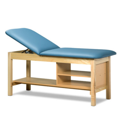 Classic Series Treatment Table with Shelving