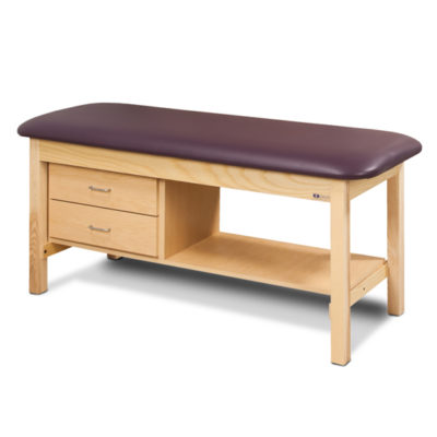 Flat Top, Classic Series, Treatment Table with Drawers