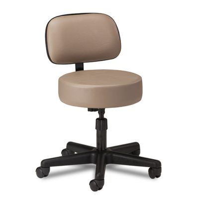 5-Leg Spin Lift Stool with Backrest