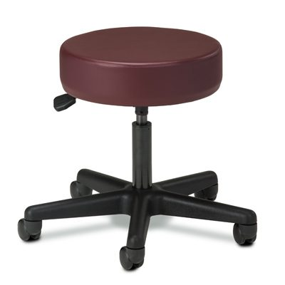 Black Base, 5-Leg, Pneumatic Stool