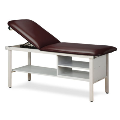 Alpha Series Treatment Table with Shelving