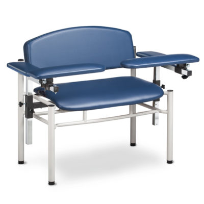 SC Series, Extra-Wide, Padded, Blood Drawing Chair with Padded Flip Arms