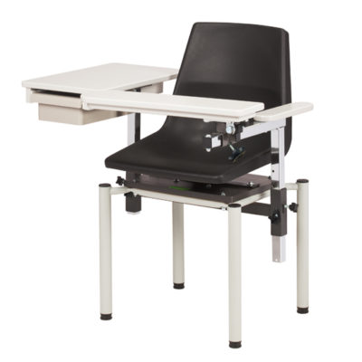 SC Series, E-Z Clean, Blood Chair with ClintonClean™ Flip Arm and Drawer