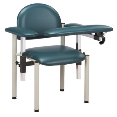 SC Series, Padded, Blood Drawing Chair  with Padded Arms