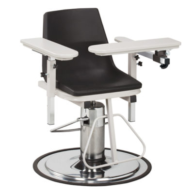H Series, E-Z-Clean, Blood Drawing Chair  with ClintonClean™ Arms