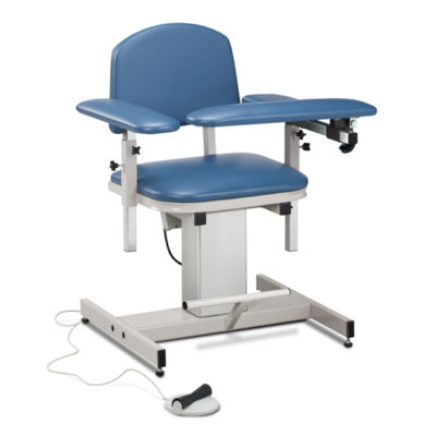 Power Series, Blood Drawing Chair  with Padded Arms
