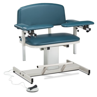Power Series, Extra-Wide, Blood Drawing Chair with Padded Arms
