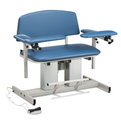 Power Series, Bariatric, Blood Drawing Chair with Padded Arms