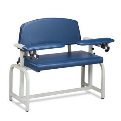 Lab X Series, Extra-Wide, Blood Drawing Chair  with Padded Arms