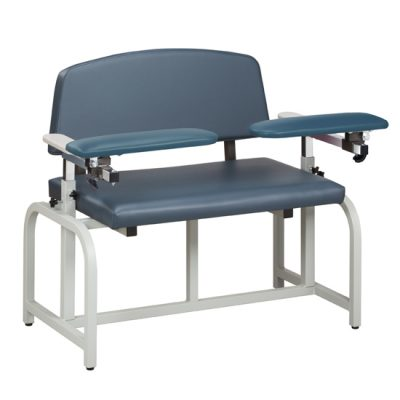 Lab X Series, Bariatric, Blood Drawing  Chair with Padded Arms