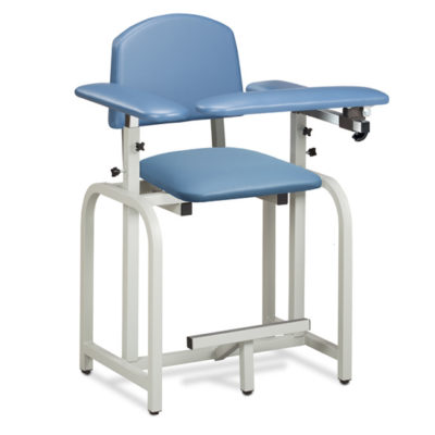Lab X Series, Extra-Tall, Blood Drawing Chair with Padded Arms