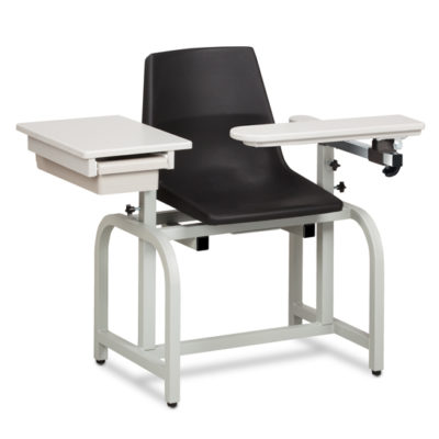 Standard Lab Series, Blood Chair with ClintonClean™ Flip Arm and Drawer