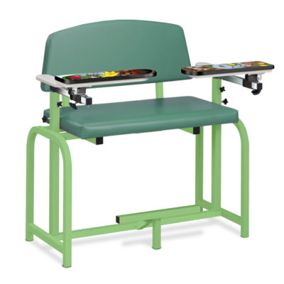 Pediatric Series/Spring Garden, Extra-Wide, Blood Drawing Chair