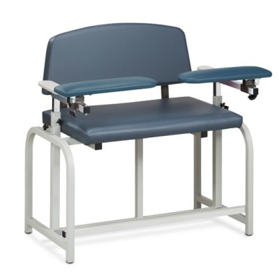Lab X Series, Bariatric, Extra-Tall, Draw Chair w/Dual Flip Arms