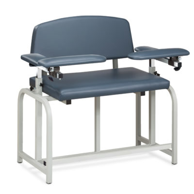 Lab X Series, Bariatric, Extra-Tall, Blood  Drawing Chair with Padded Arms