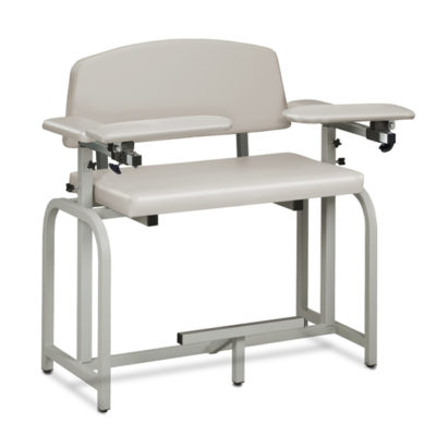 Lab X Series, Extra-Wide and Extra-Tall, Blood Drawing Chair with Padded Arms