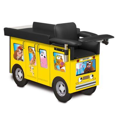 Pediatric Series, Zoo Bus, Blood Drawing Station