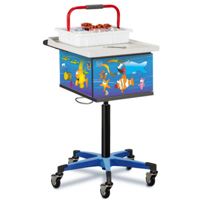 Pediatric/Ocean Commotion Phlebotomy Cart