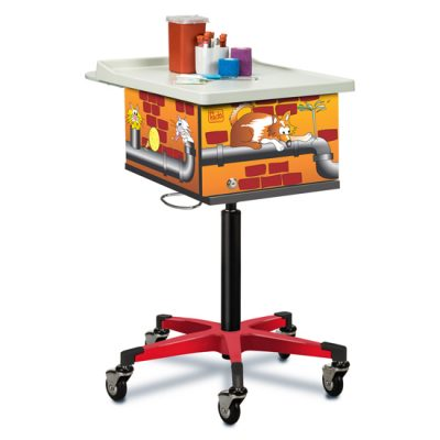 Pediatric/Alley Cats and Dogs Phlebotomy Cart