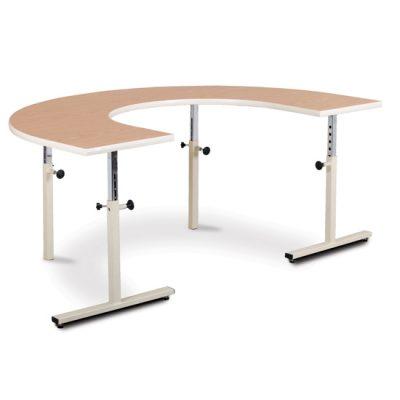U-Shaped Table