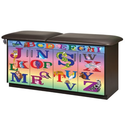 Alphabet Animals Treatment Table