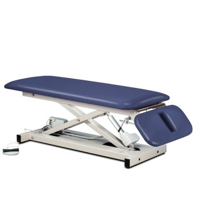 Open Base Space Saver Power Table with Drop Section