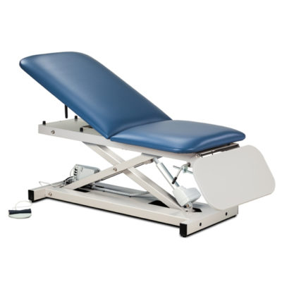 Open Base Power Casting Table with ClintonClean™ Leg Rest
