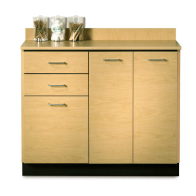 Base Cabinet with 3 Doors and 2 Drawers
