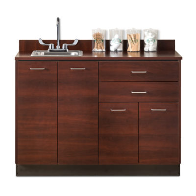 8048 Dark Cherry Sink