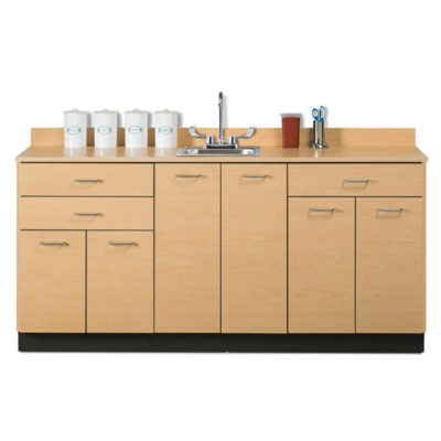 Base Cabinet with 6 Doors and 3 Drawers
