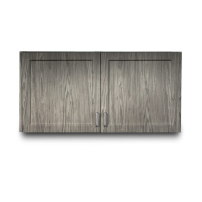 "Fashion Finish 48"" Wall Cabinet with 2 Doors"