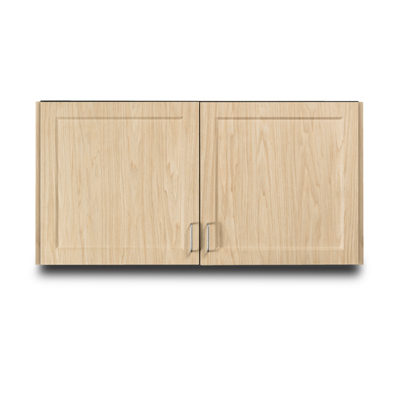 """Fashion Finish 48"""" Wall Cabinet with 2 Doors"""