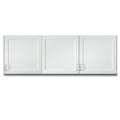 """Fashion Finish 72"""" Wall Cabinet with 3 Doors"""