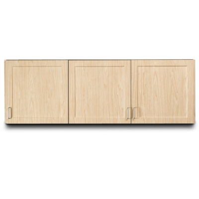 "Fashion Finish 72"" Wall Cabinet with 3 Doors"
